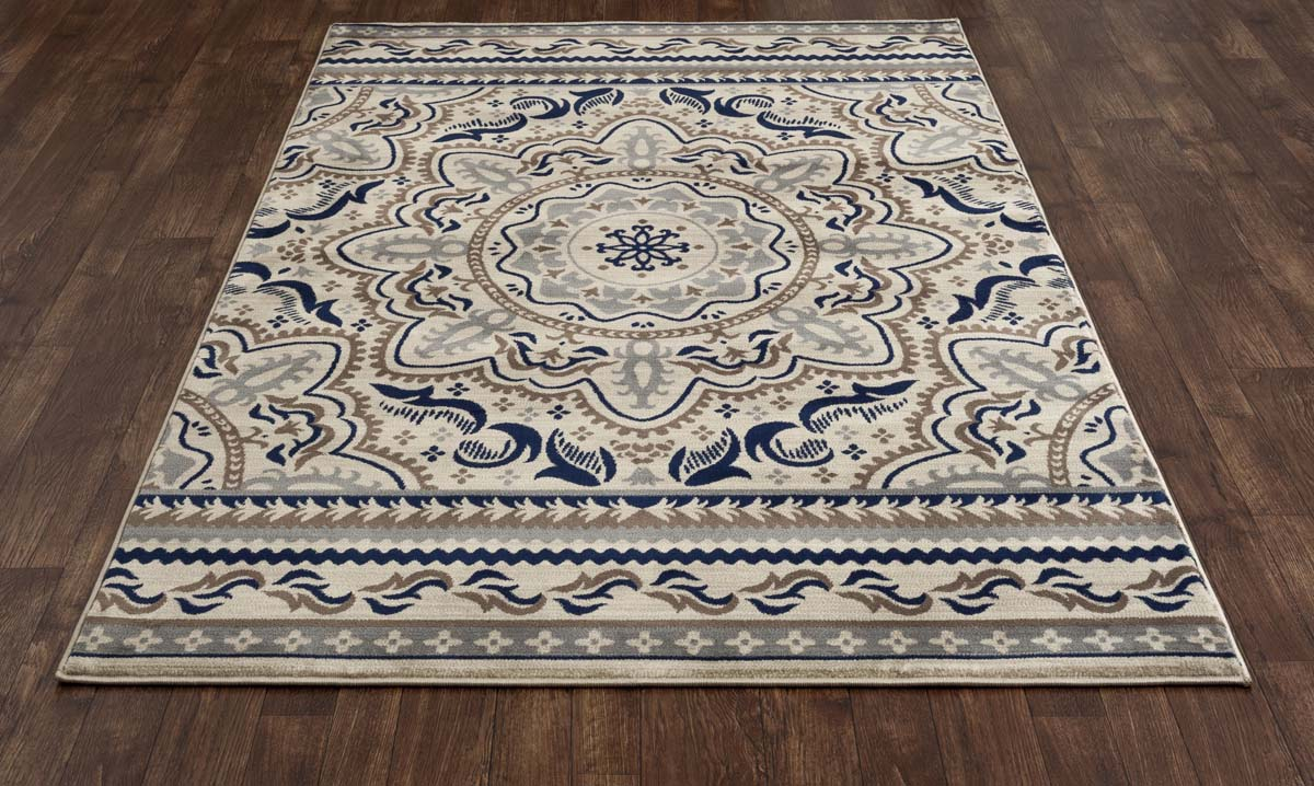 Heritage Fanciful Beige Rug