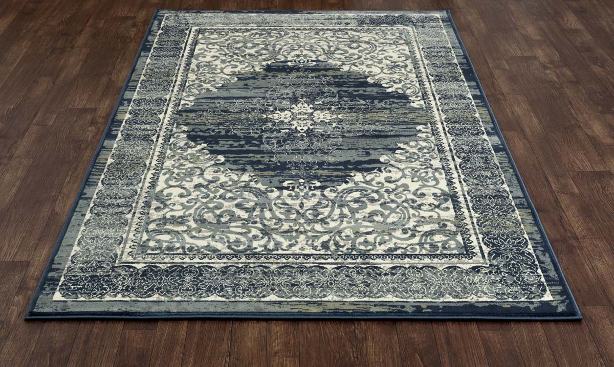 Ozark Homeland Steel Blue Rug