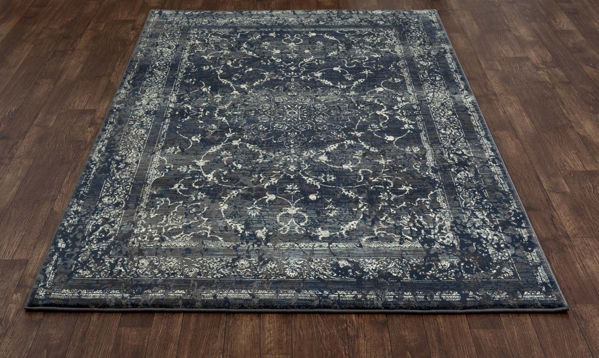 Ozark Treasure Steel Blue Rug