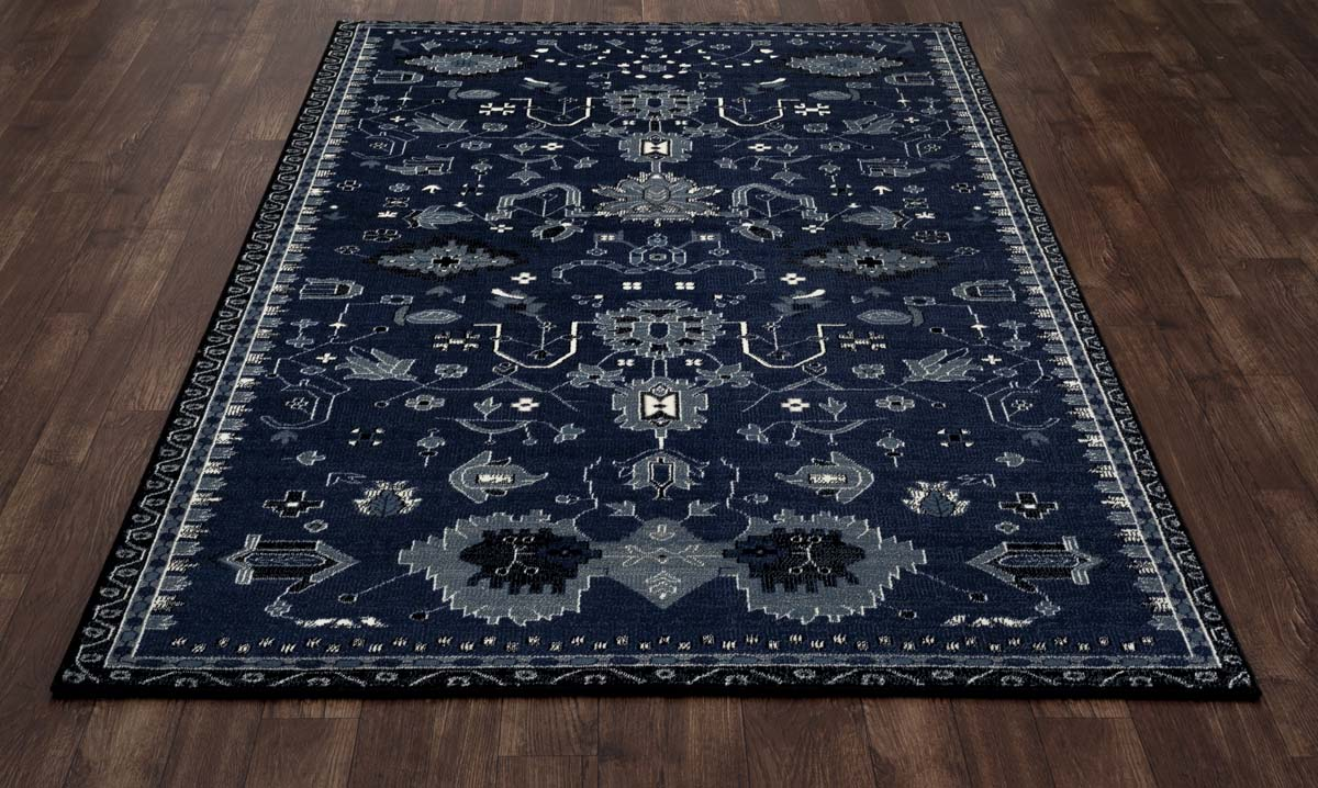 trinity oasis navy rug. Black Bedroom Furniture Sets. Home Design Ideas