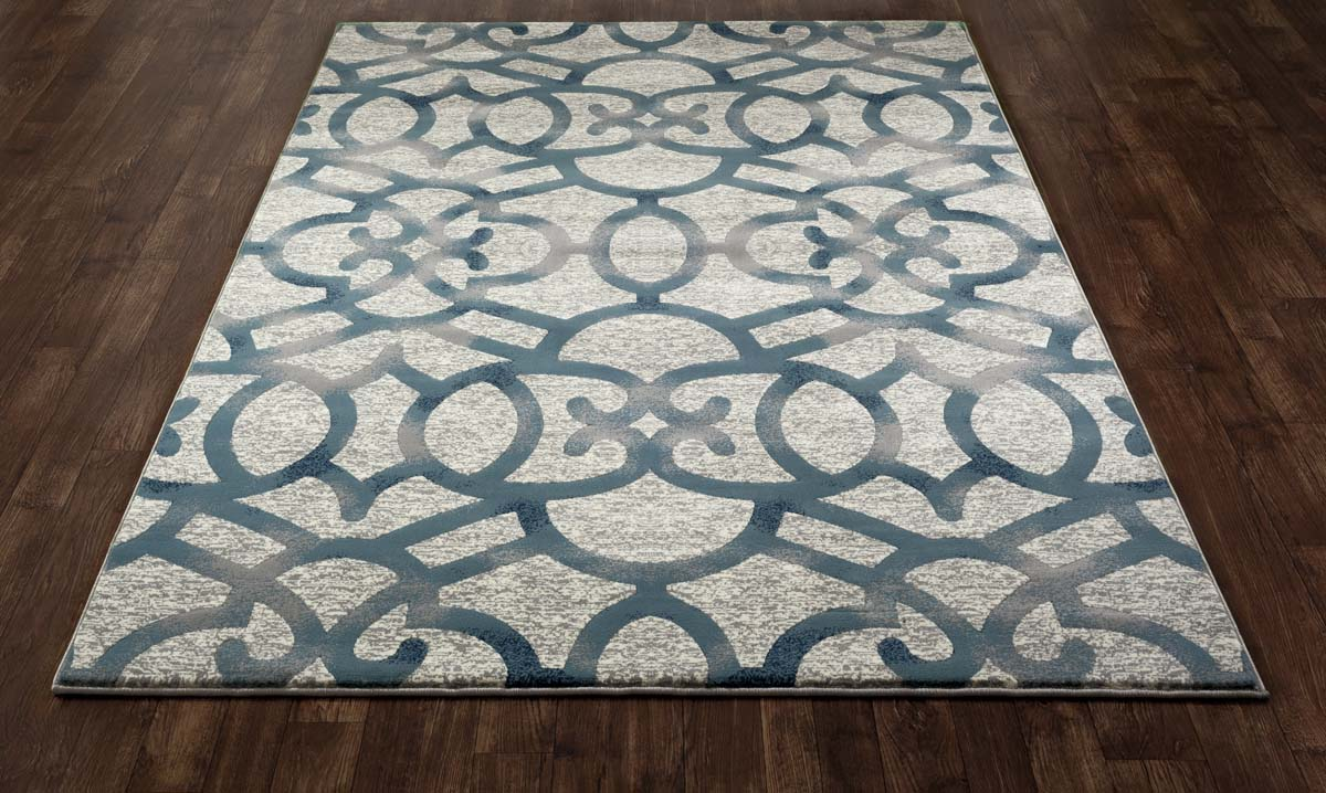 Regency Trellis Blue Rug