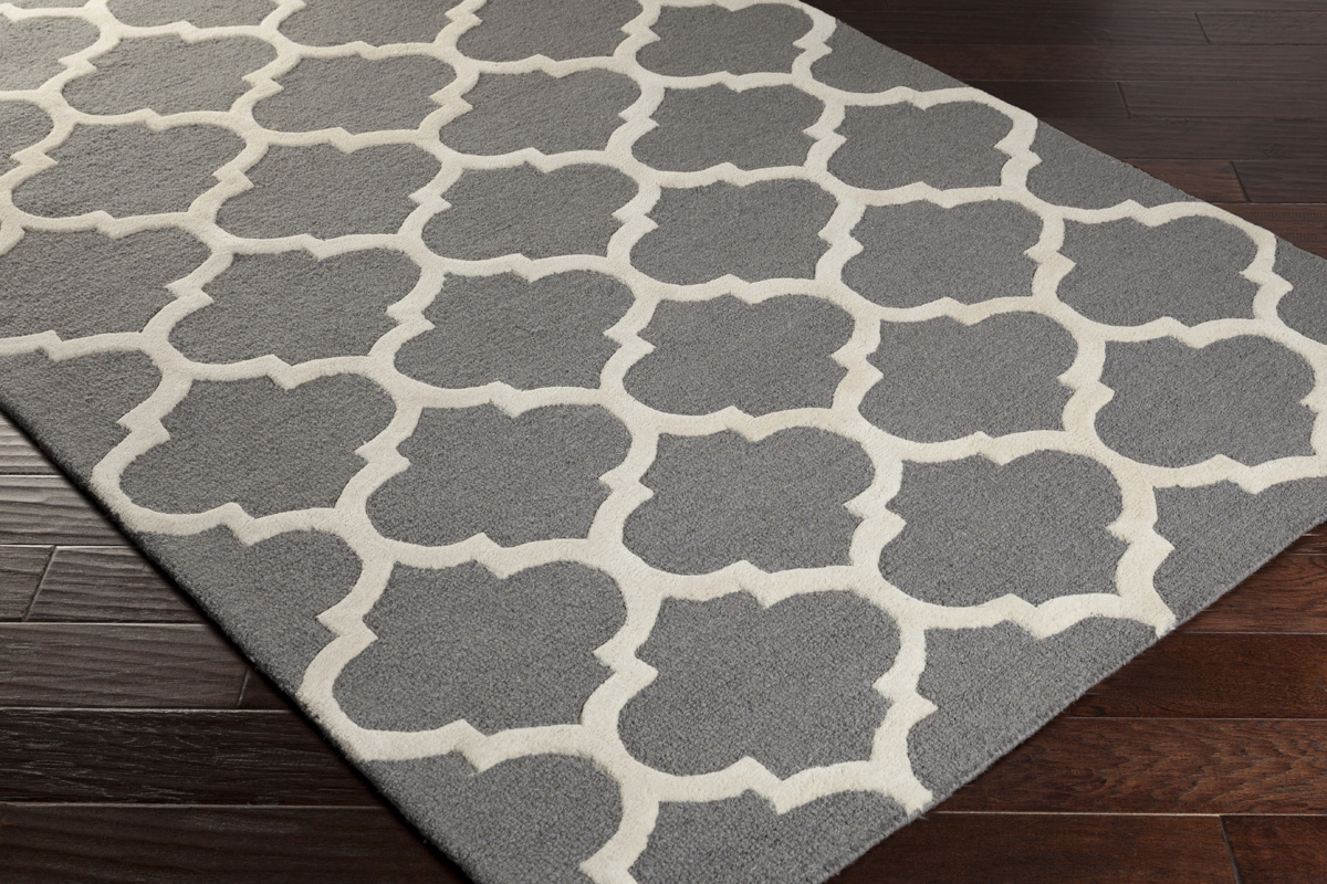 Grey Amp White Area Rug Trellis Rugs Wool Area Rugs For Sale
