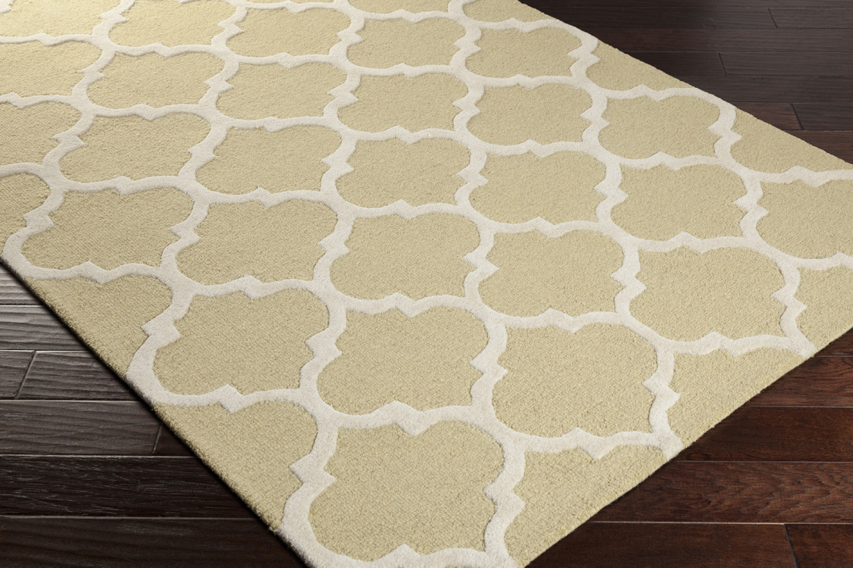 Artistic weavers pollack stella awah2035 gold white area rug for White area rug