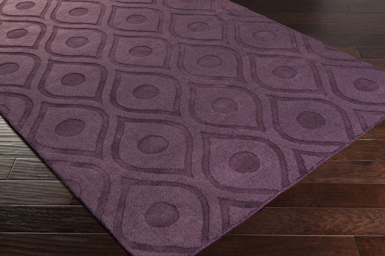 Artistic Weavers Central Park AWHP-4006 Zara Purple Rug