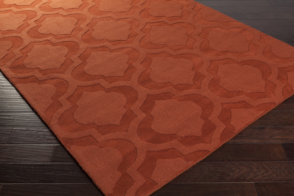 artistic weavers central park kate awhp orange area rug -