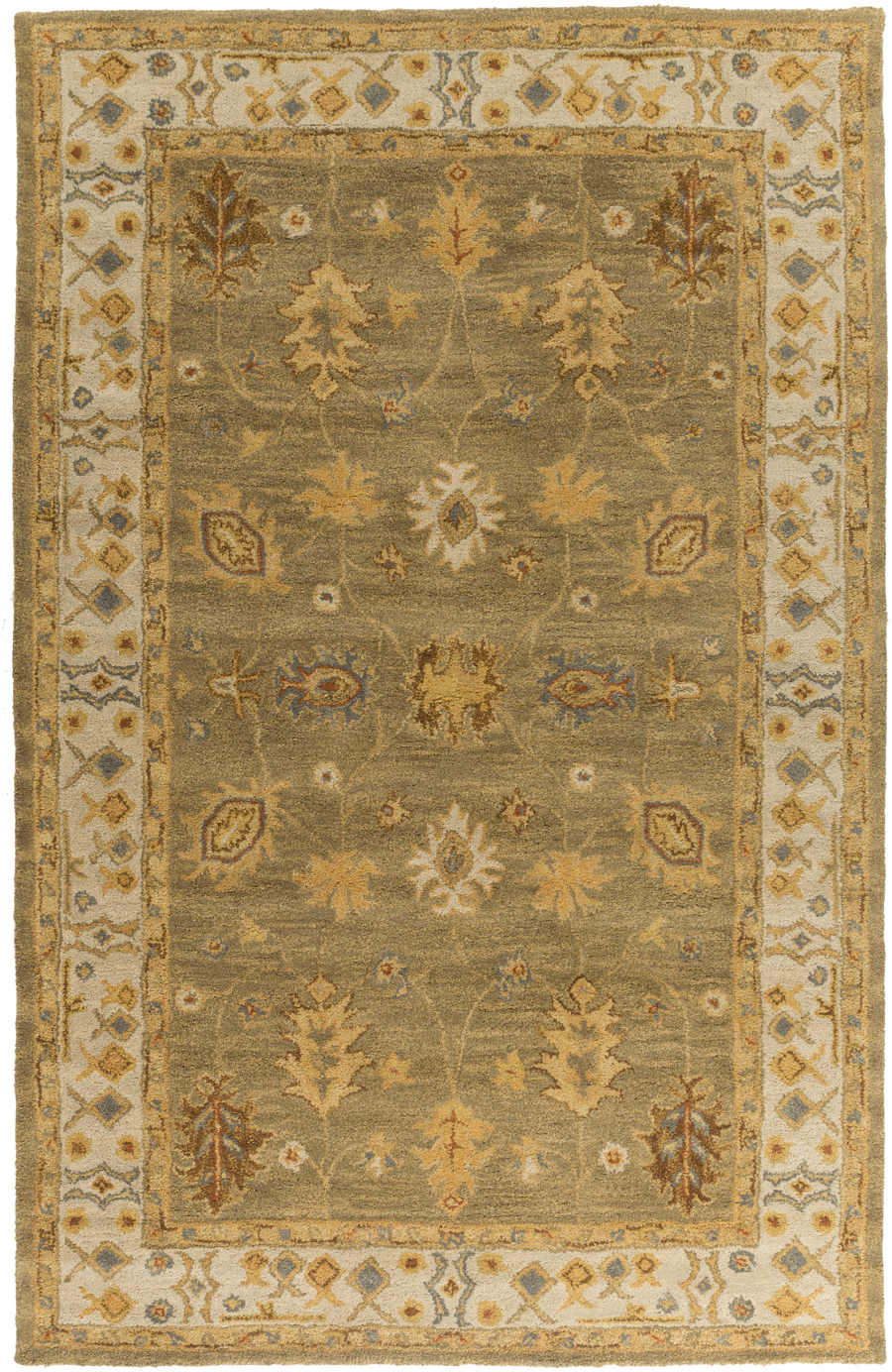 Artistic Weavers Middleton Willow AWHR2049 Sage/Ivory Area Rug
