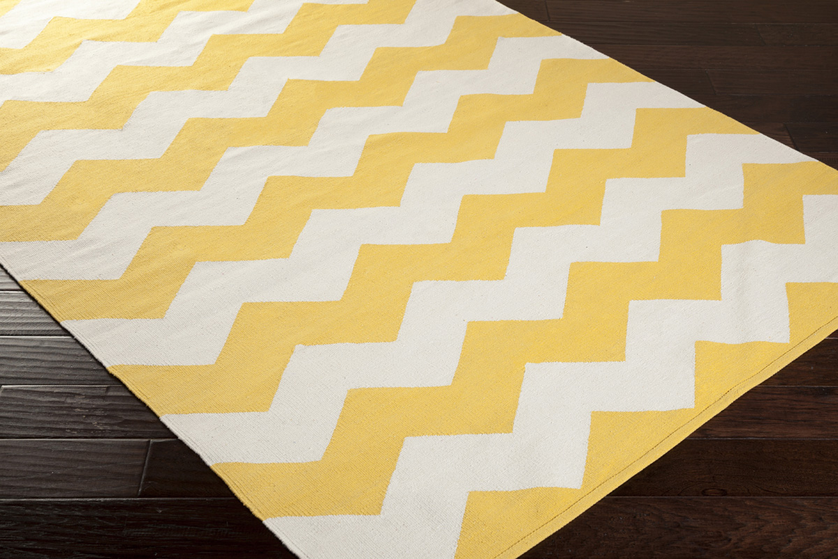 artistic weavers vogue collins awlt3023 yellow white area rug. Black Bedroom Furniture Sets. Home Design Ideas