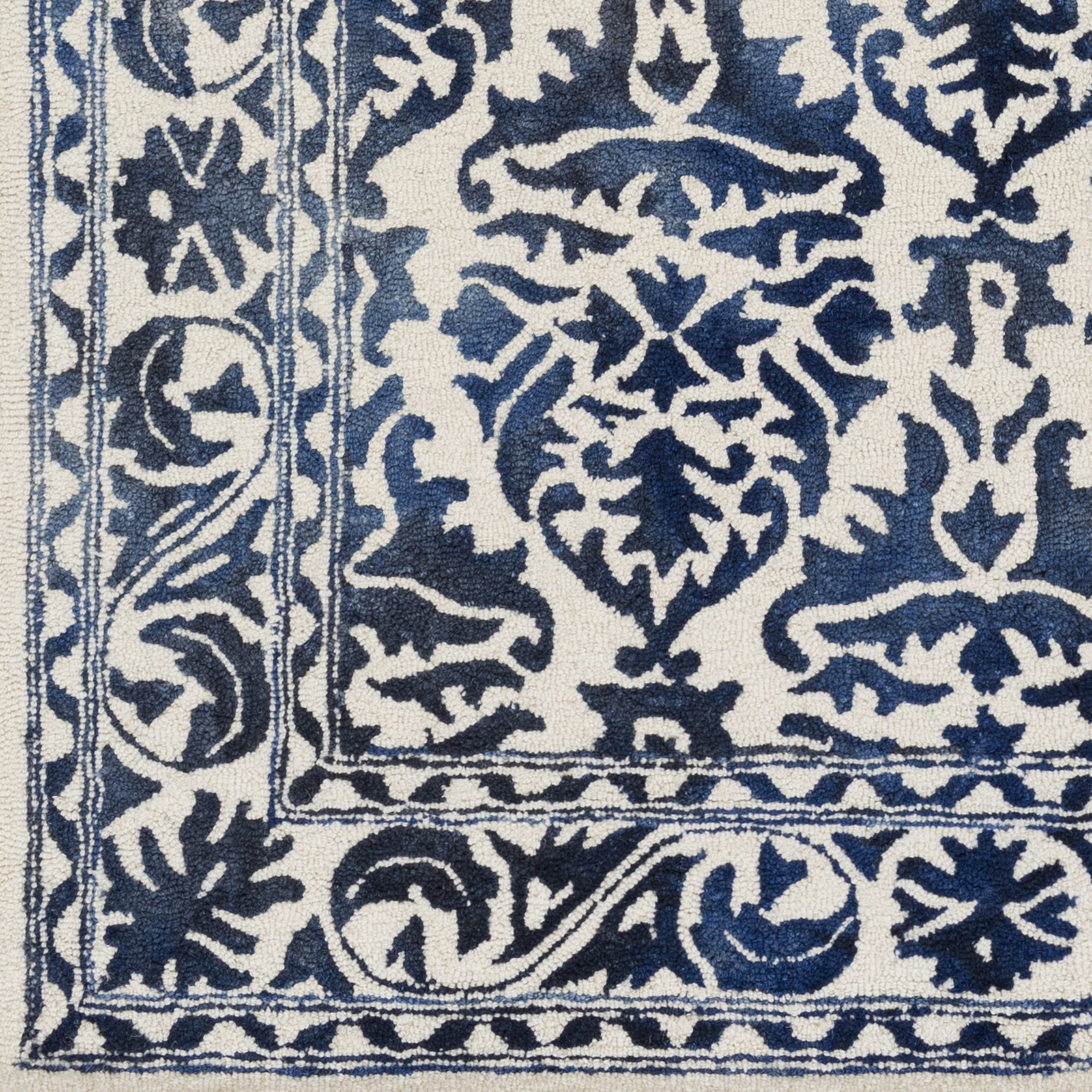 Artistic Weavers Organic Awog 2302 Evelyn Navy Off White Rug