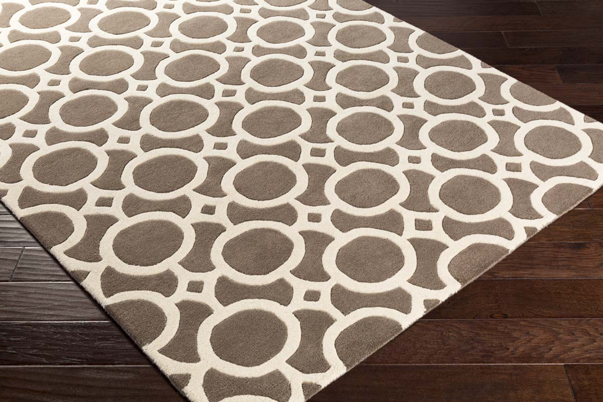 Artistic Weavers Transit Piper Awhe2019 Gold White Area Rug