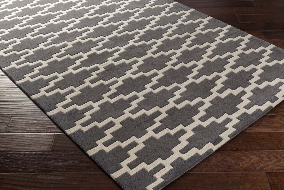 Artistic Weavers Transit AWTR-2335 Clark Charcoal Ivory Rug