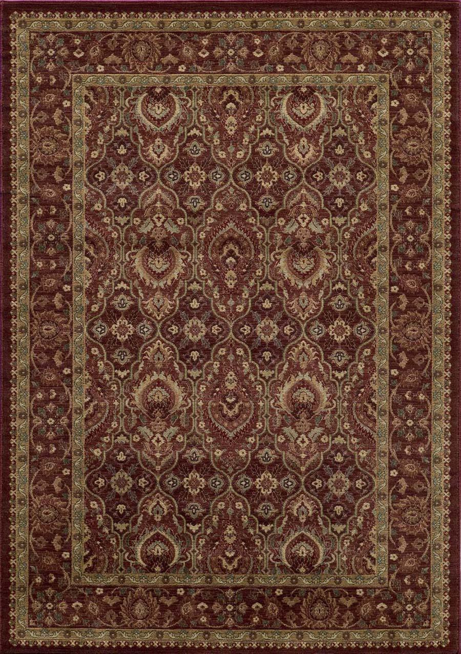 Momeni belmont be 05 red rug for Momeni rugs