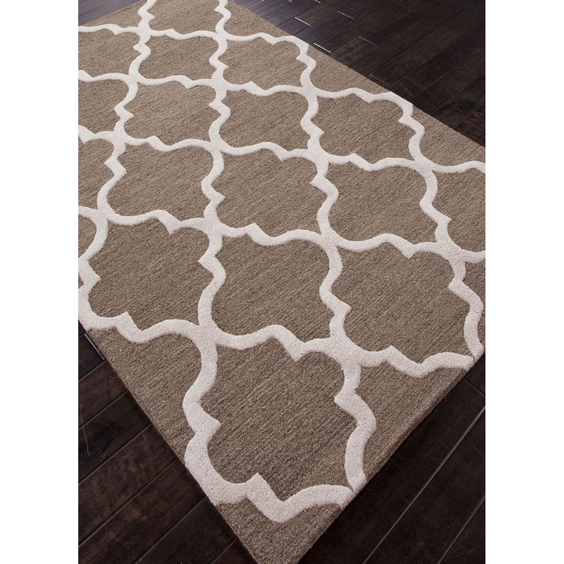 Jaipur City Miami CT20 Mushroom Antique White Rug