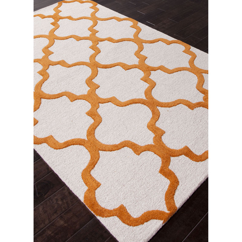 Jaipur City Miami CT22 White Sun Orange Rug