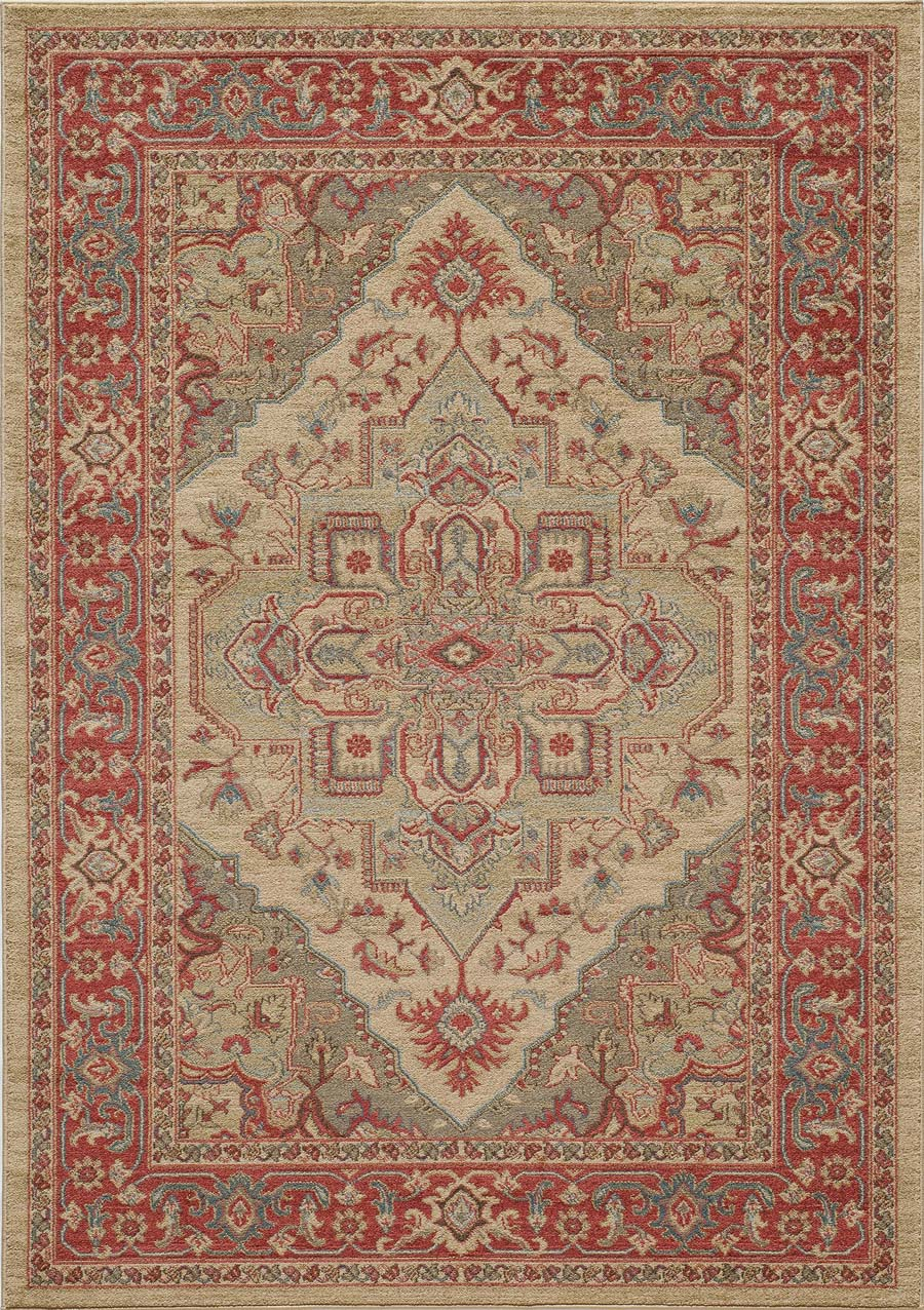 Momeni ghazni gz 05 beige rug for Momeni rugs