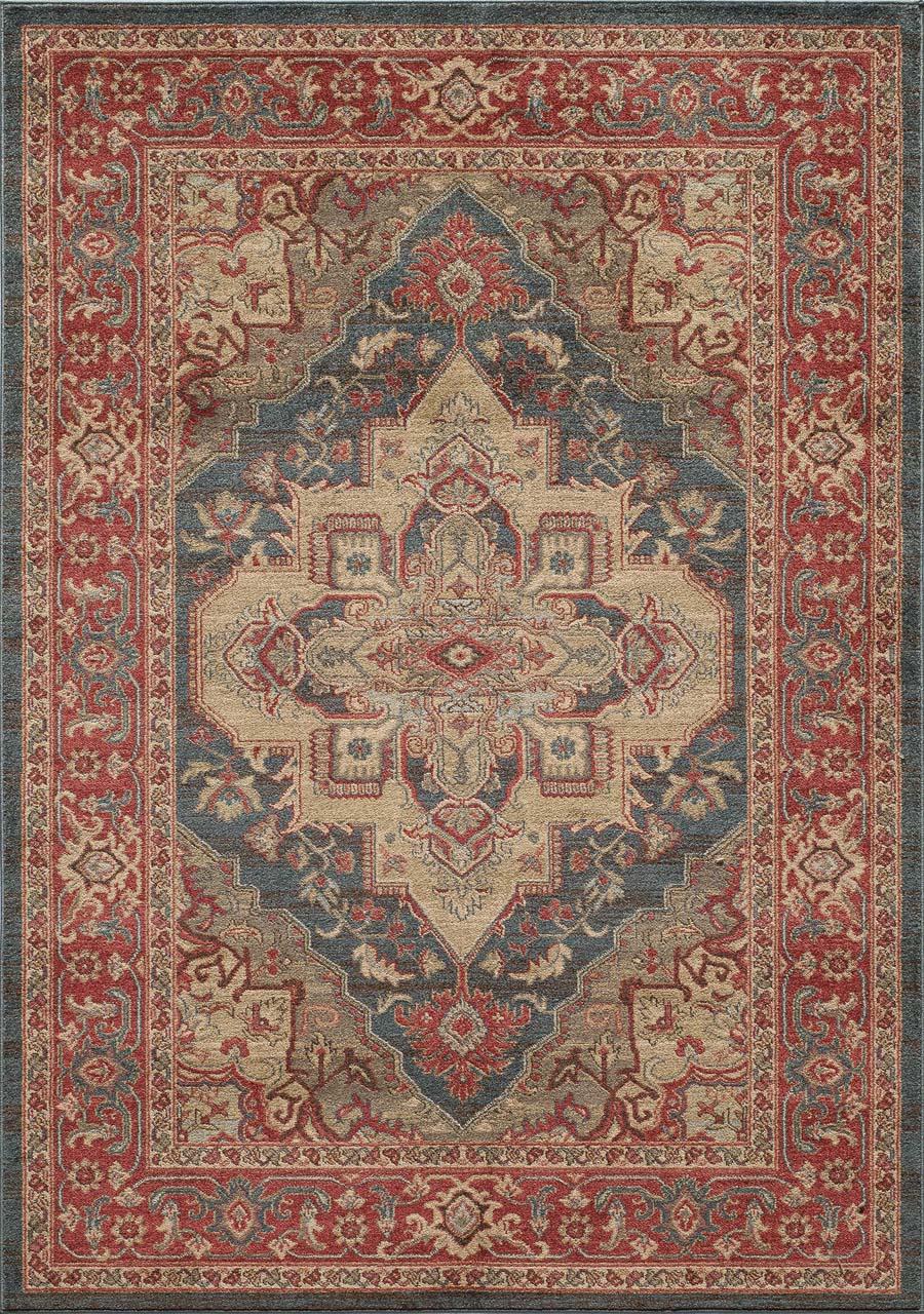 Momeni ghazni gz 05 navy rug for Momeni rugs
