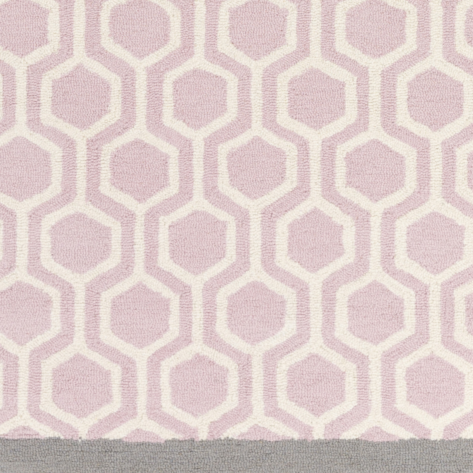 Crosier Gray/Pink Area Rug. Close.