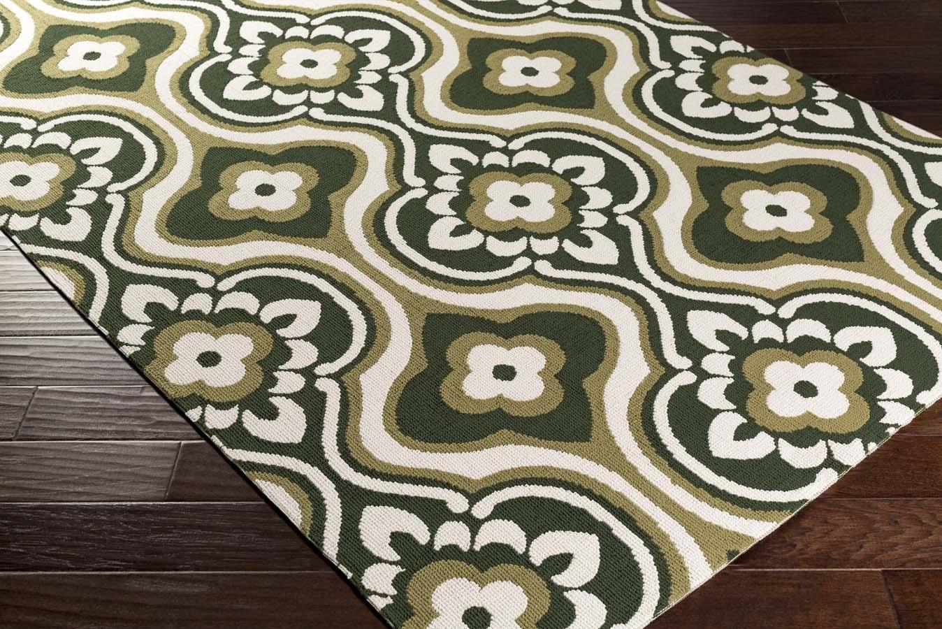 Artistic Weavers Joan JOAN 6091 Kingsbury Olive Green Rug