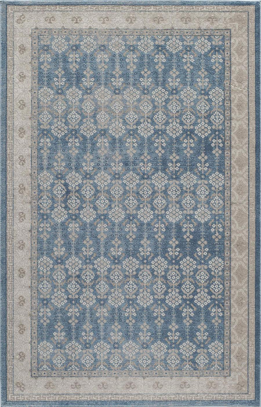 momeni kerman ke04 blue rug - Momeni Rugs