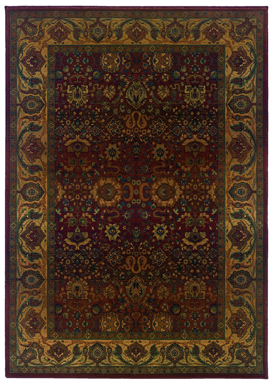 Oriental Weavers Sphinx Kharma 332c Red Rug