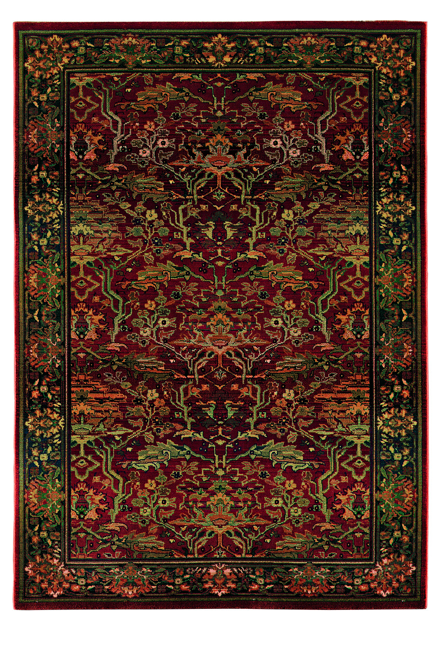 Oriental Weavers Sphinx Kharma Peace 465r Medium Red Rug