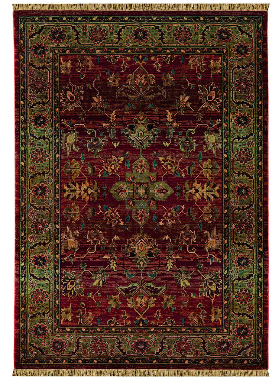Oriental Weavers Sphinx Kharma Enchantment 836c Medium Red Rug