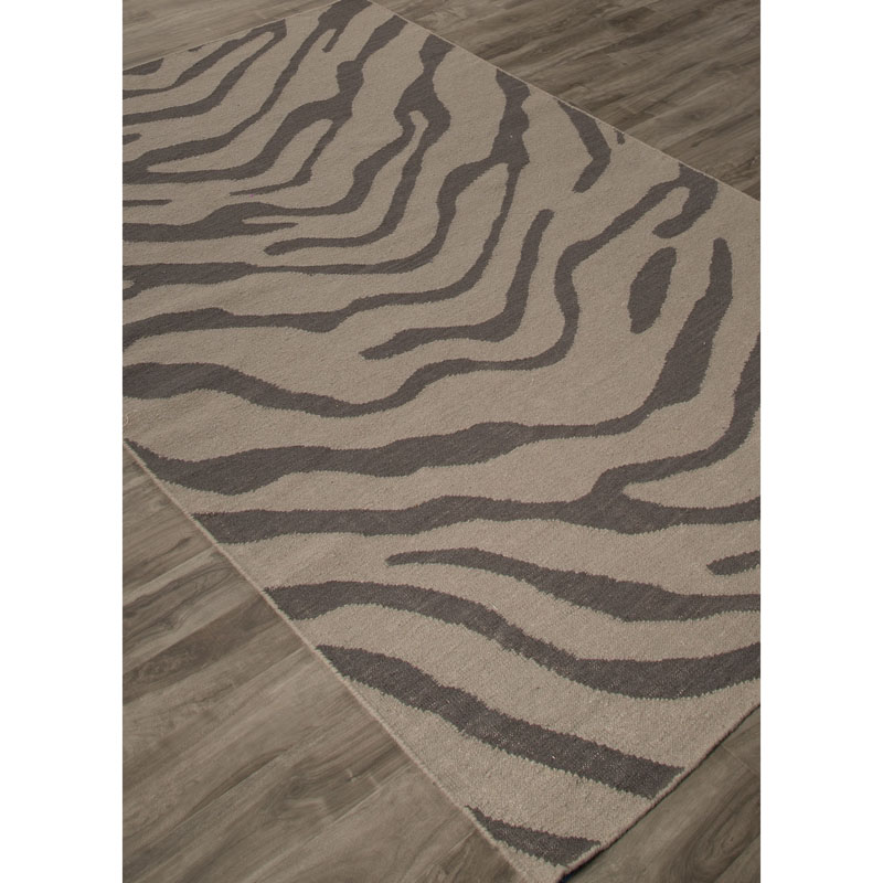 Jaipur NGF04 National Geographic Home Collection Fw Tiger Feather gray Rug