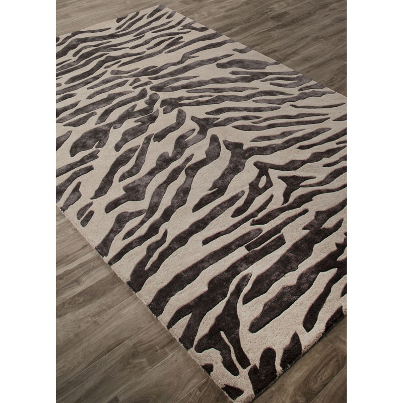 Jaipur NGT11 National Geographic Home Collection Tufted Tigress Oyster gray Rug
