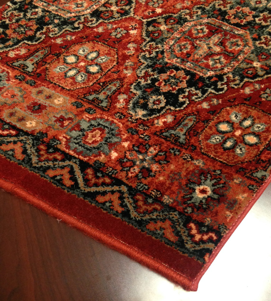 Old world classics kashkai 0406 0003a burgundy carpet for Runners carpets and rugs