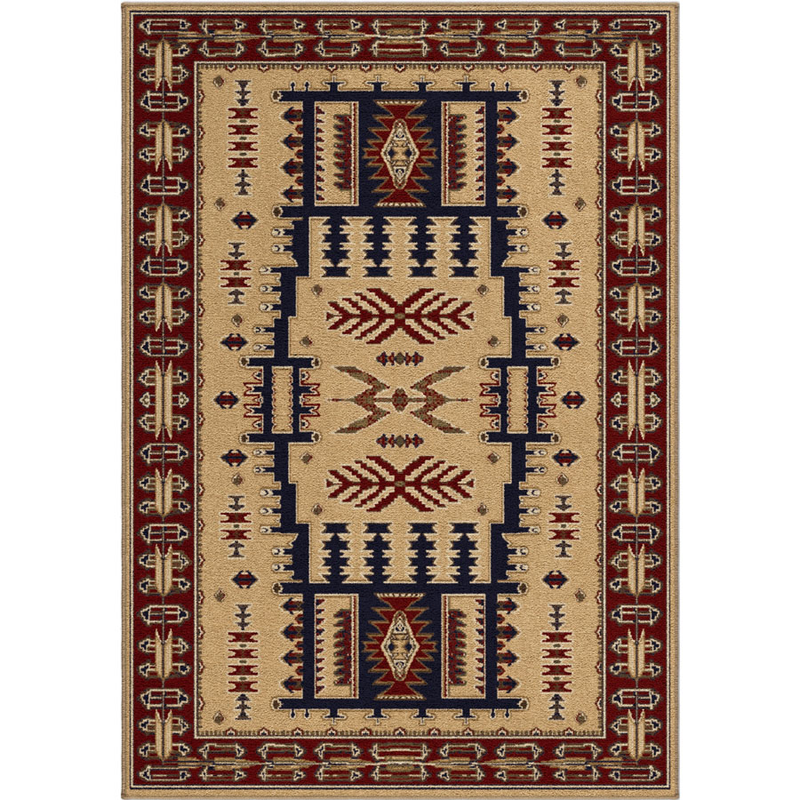 Orian Oxford 2616 Northfork Linen Area Rug
