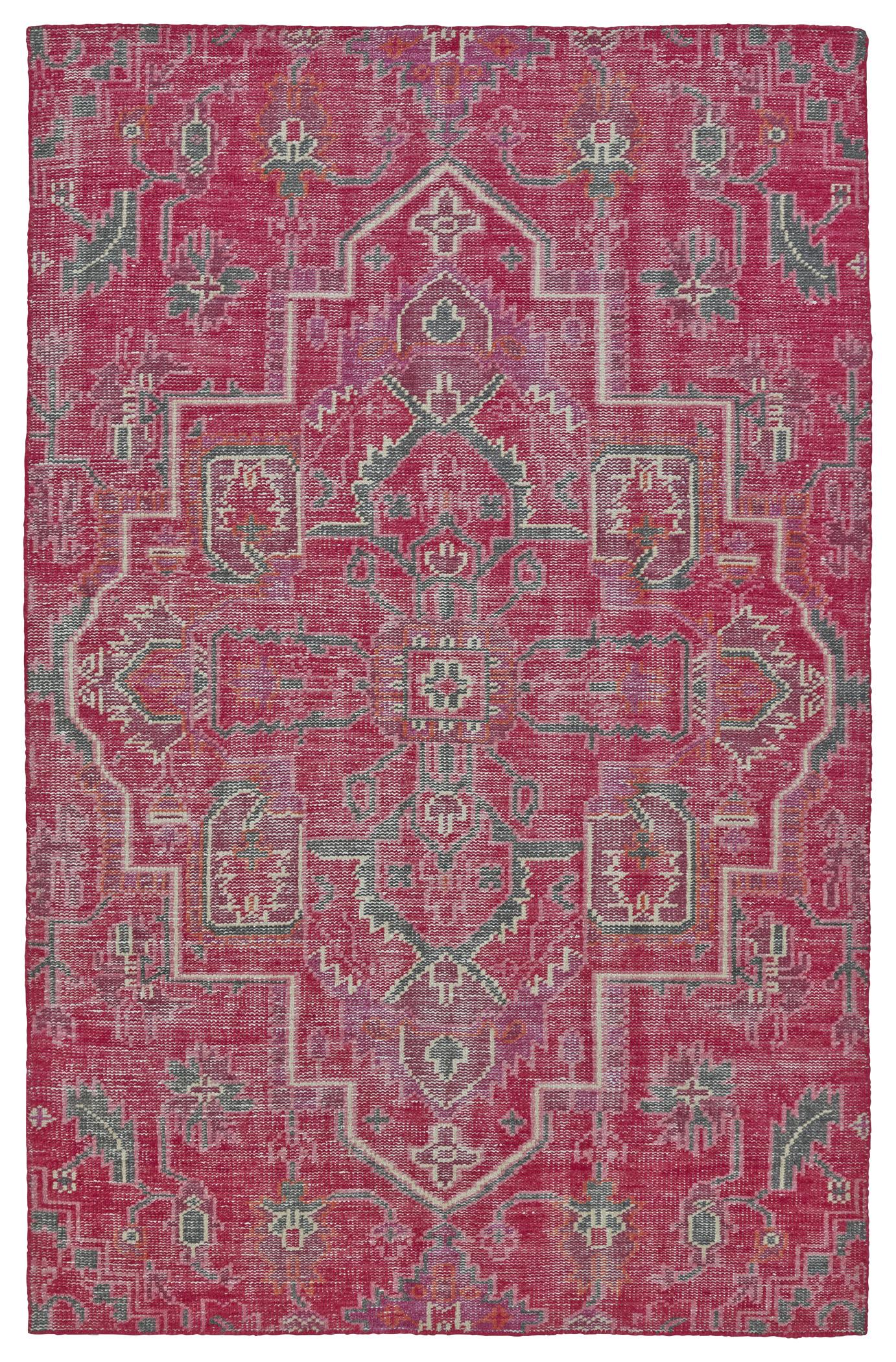 kaleen relic rlc0192 pink rug