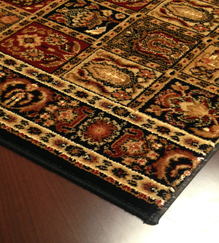 Royal Kashimar Antique Nain 8199/2599 Black Carpet Stair Runner