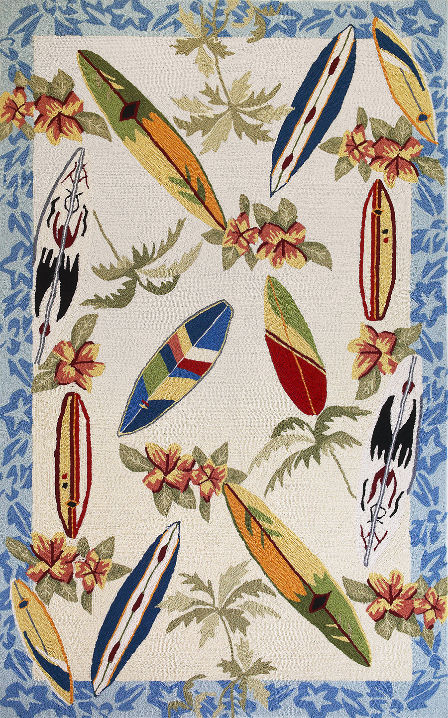 novelty area rugs  novelty rugs for sale  payless rugs - sonesta  ivory surfboards rug by kas