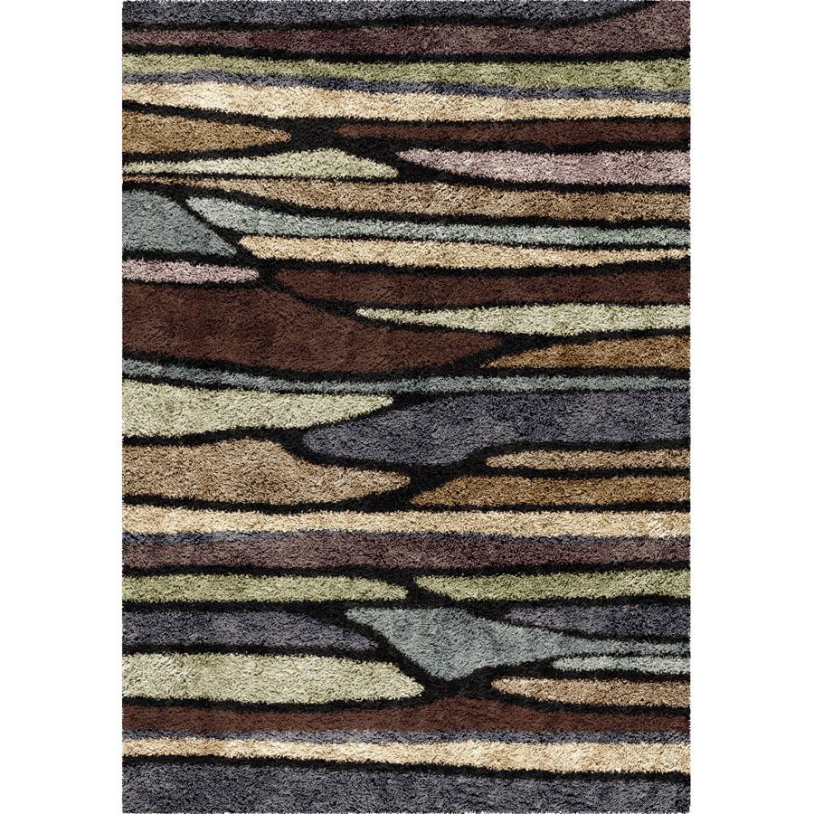 Orian Rugs Human Resources: Orian Shag-Ri-La 1724 Plateau Rainbow Area Rug