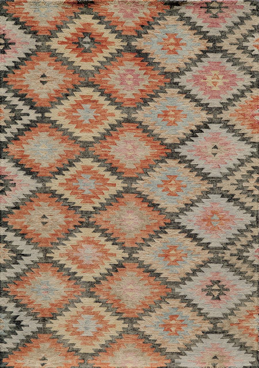 Momeni tangier tan19 black rug for Momeni rugs