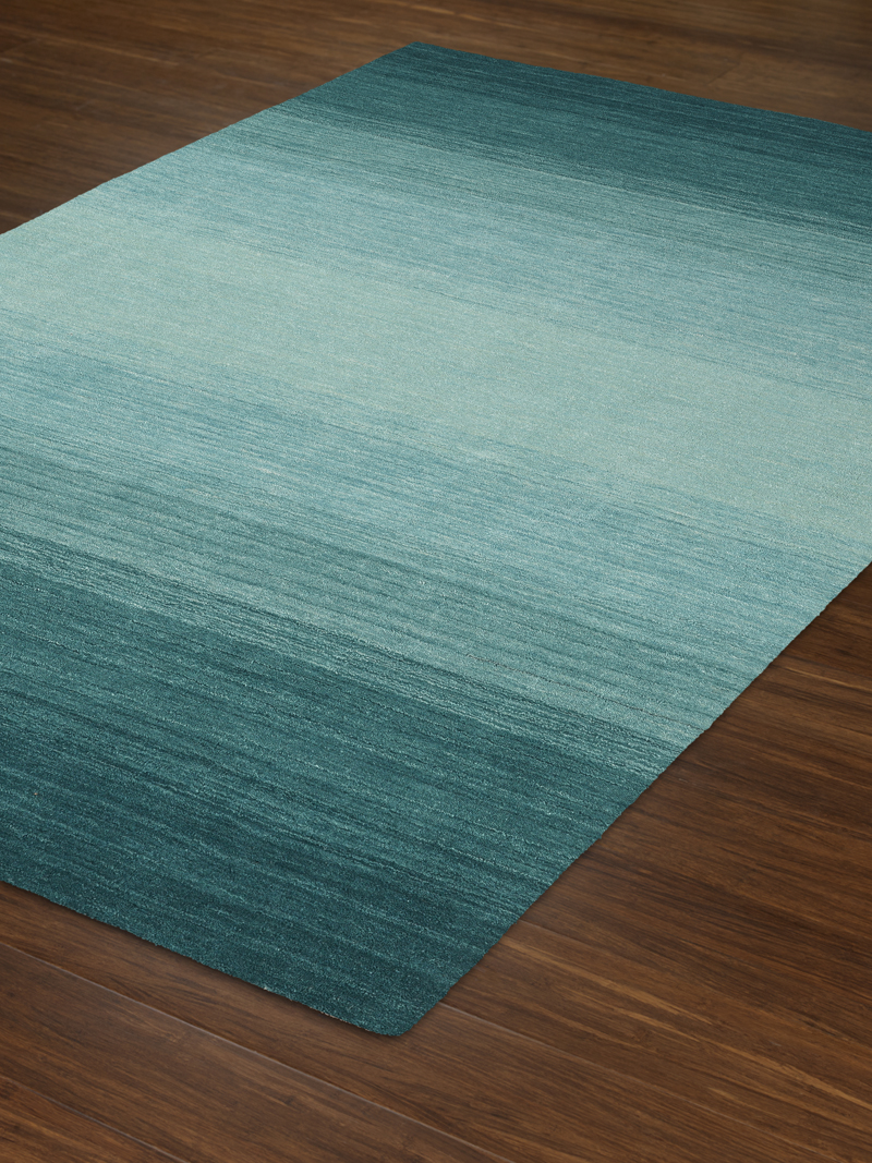 Dalyn Torino Teal Area Rug Hand Loomed Rug