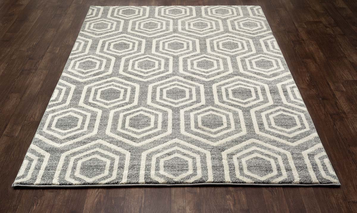Zelot Bees Knees Gray Rug