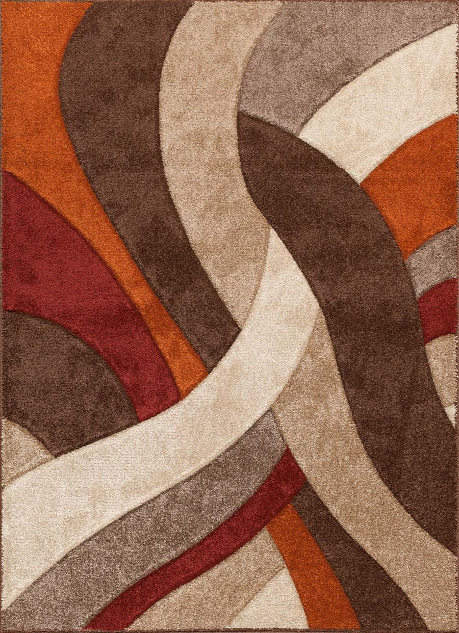 Payless Rugs Alpha 1703 91 Tangles Multi Rug