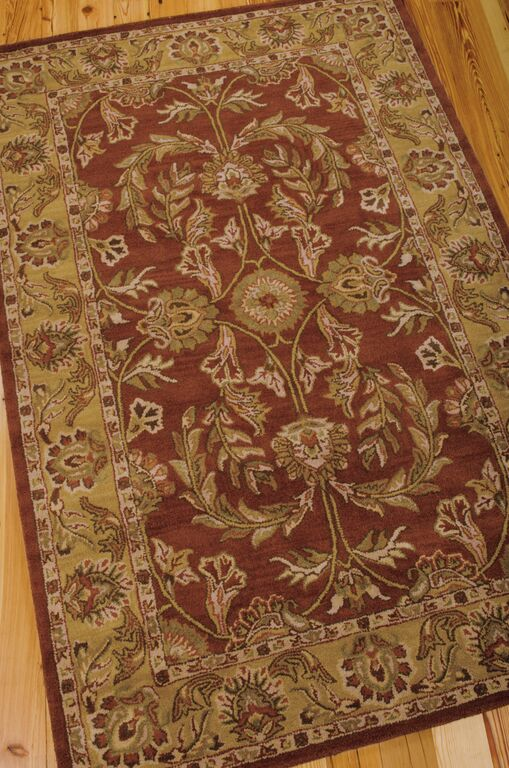 India House IH58 Rust Rug by Nourison