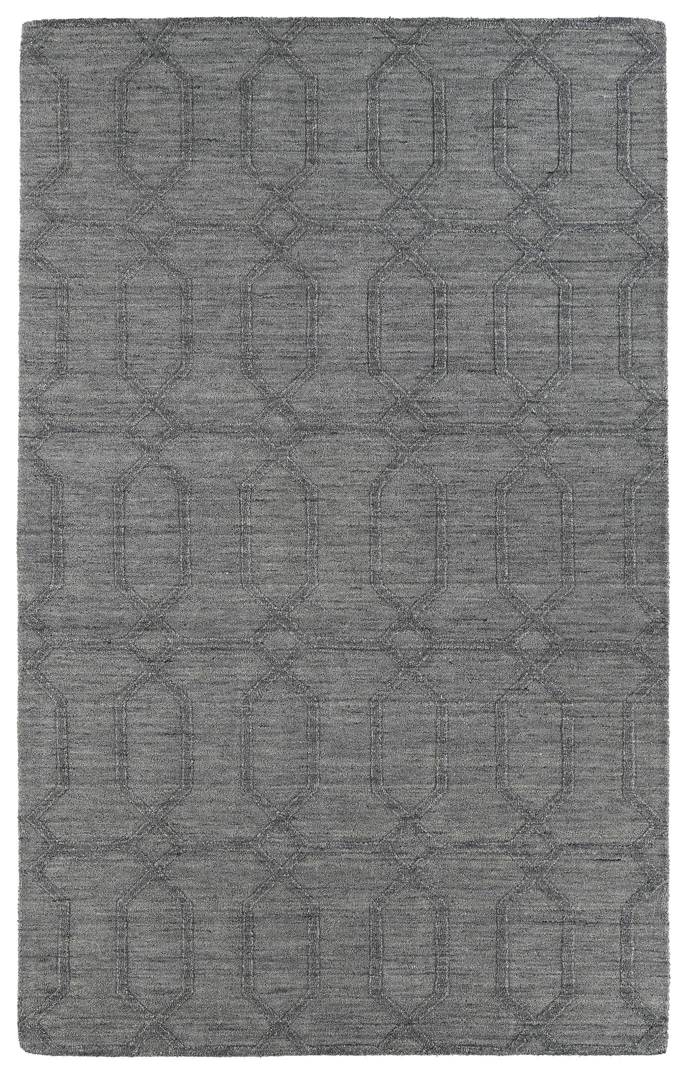 Kaleen imprints modern ipm03 75 grey rug - Wandspiegel groay modern ...