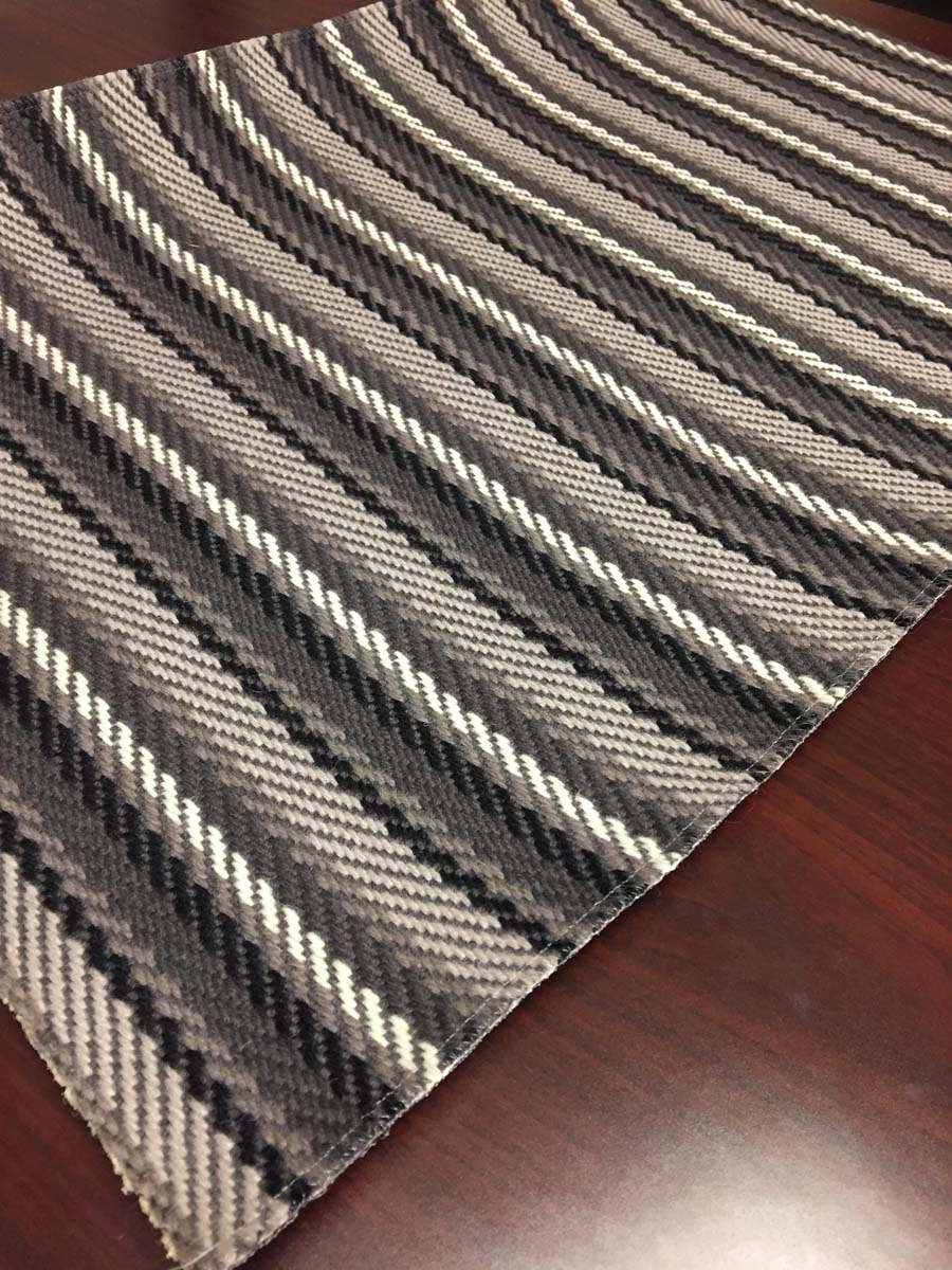 Kaliedoscope 1500-1502 Charcoal Multi Hallway and Stair Runner