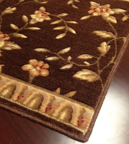 Somerset ST69 Brown Carpet Stair Runner