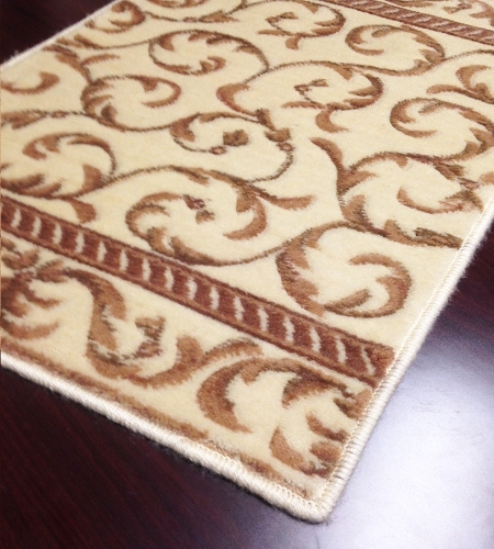 Somerset ST02 Ivory Carpet Stair Runner
