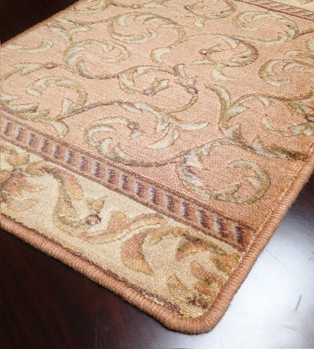 Somerset ST02 Peach Carpet Stair Runner