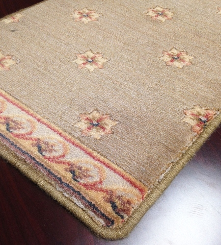Somerset ST55 Green Carpet Stair Runner