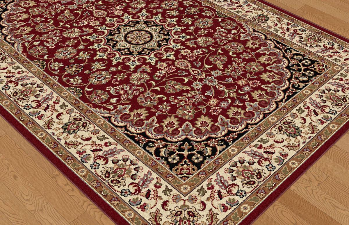 Tayse Elegance Elg5390 Red Rug