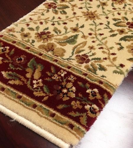 Bainbridge Trellis Cb64 0001a Ecru Floral Carpet Stair Runner