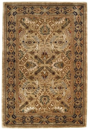 Polonaise Dark Beige Forest Park Rug by Capel