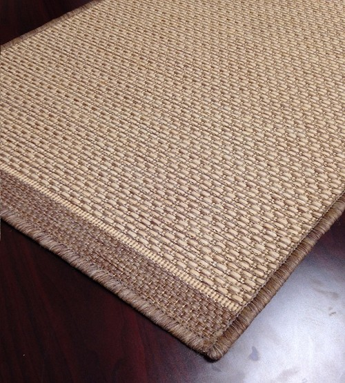 Indoor Outdoor Carpet Stair Runner Cocoa Pattern Foris
