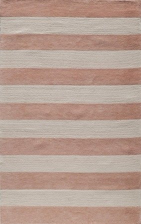Lil Mo Classic LMI-05 Cabana Stripe Pink Rug by Momeni