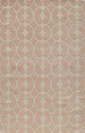 Lil Mo Classic LMI-06 Trellis Pink Rug by Momeni